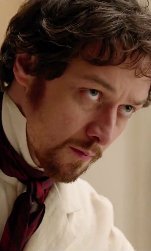 James McAvoy with Dickies Lab Coat in Victor Frankenstein