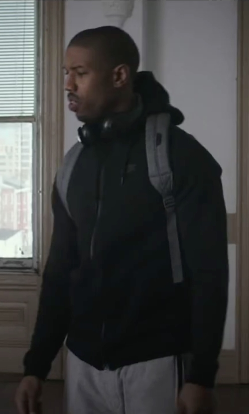 Michael B. Jordan with Beats Solo 2 Wireless On-Ear Headphone in Creed