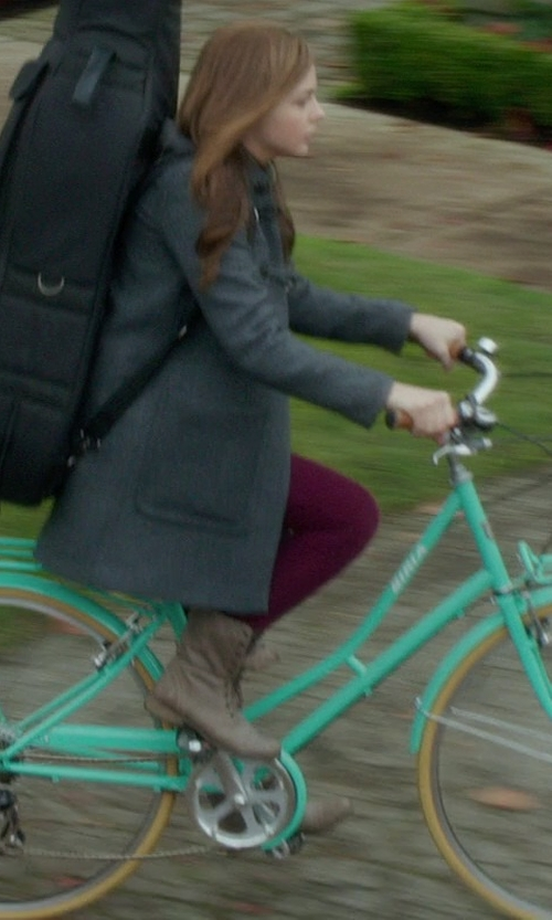 Chloë Grace Moretz with Steve Madden Women's Troopa Boots in If I Stay