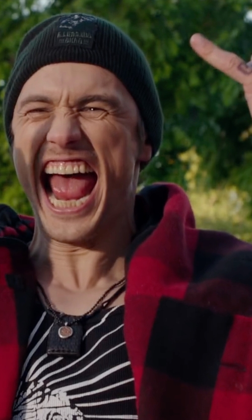 James Franco with Nautica Men's Graphic-Print T-Shirt in Why Him?