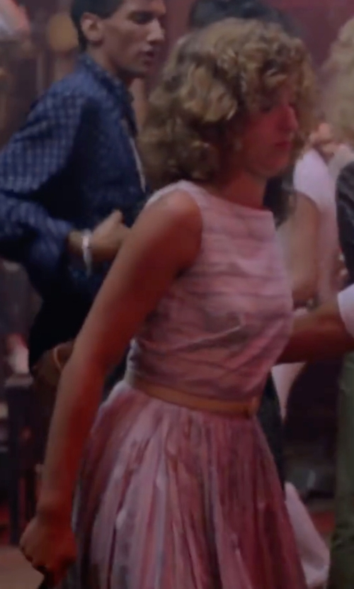 Jennifer Grey with Annarita N. Knit Dress in Dirty Dancing