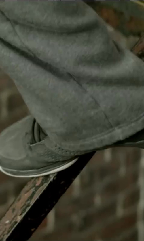 David Belle with adidas NEO SE Daily Mid-Top Sneaker in Brick Mansions
