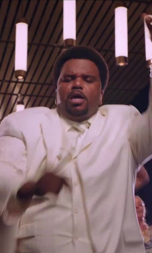 Craig Robinson with Tombolini 3 Piece Suit in Hot Tub Time Machine 2