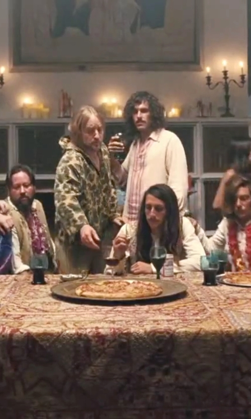 Owen Wilson with Daniele Alessandrini Homme Casual Stripe Pants in Inherent Vice