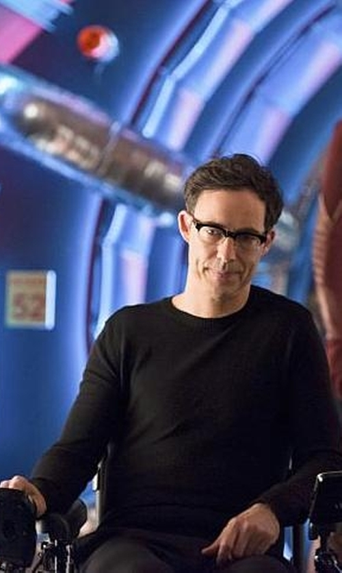 Tom Cavanagh with Barneys New York Fine-Gauge Knit Sweater in The Flash