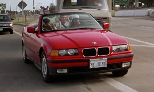 Stacey Dash with BMW 1994 3 Series 325i Coupe in Clueless