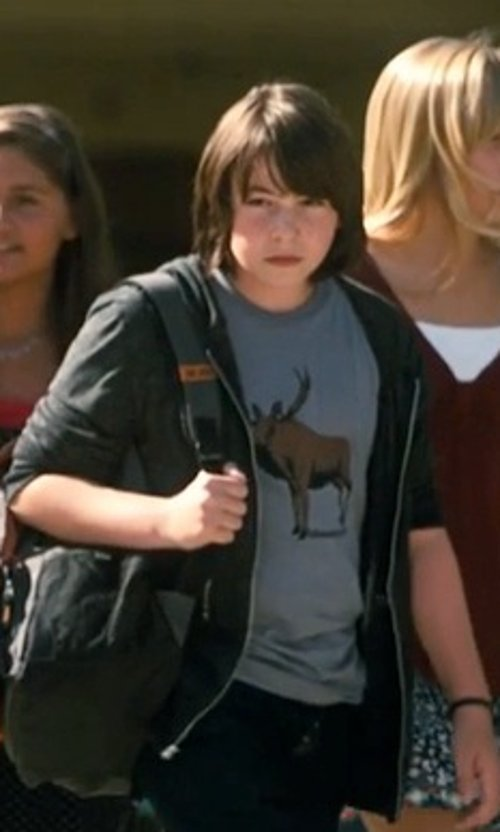Jonah Bobo with Gap Gym Zip Hoodie in Crazy, Stupid, Love.