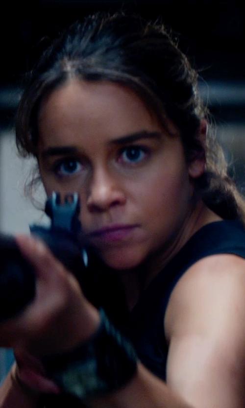Emilia Clarke with Henri Bende Carlyle Cuff Bracelet in Terminator: Genisys