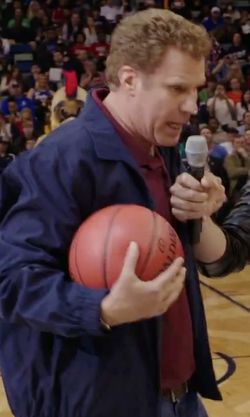 Will Ferrell with Trafalgar 'Manchester' Leather Belt in Daddy's Home
