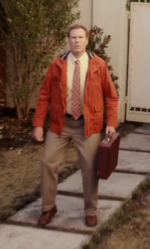 Will Ferrell with McKlein USA Reagan Leather Attache Case in Daddy's Home