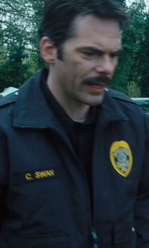 Billy Burke with Wrangler Work Jacket in Twilight