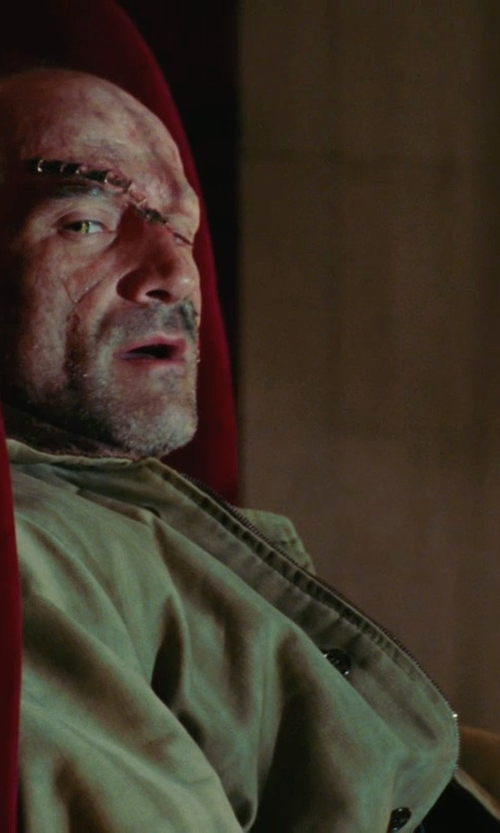 Elias Koteas with Alpha Industries Men's M-65 Field Coat in Shutter Island