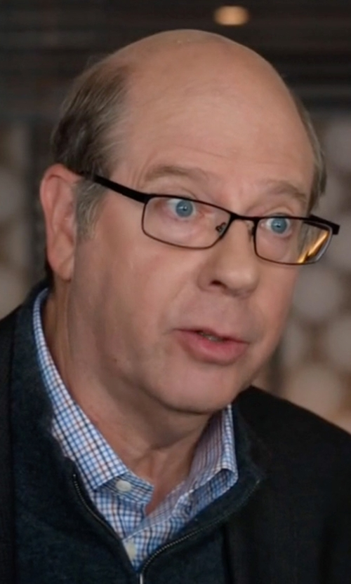 Stephen Tobolowsky with Tom Ford  Tattersall Check Dress Shirt in Silicon Valley
