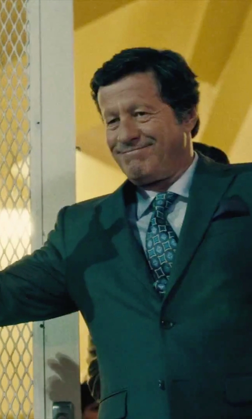 Joaquim de Almeida with Canali Two Piece Suit in Our Brand Is Crisis