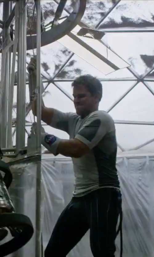 Matt Damon with April 77 Denim Pants in The Martian