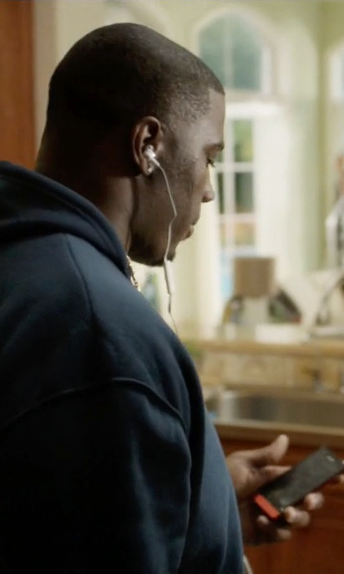 Donovan W. Carter with Sony Xperia P in Ballers