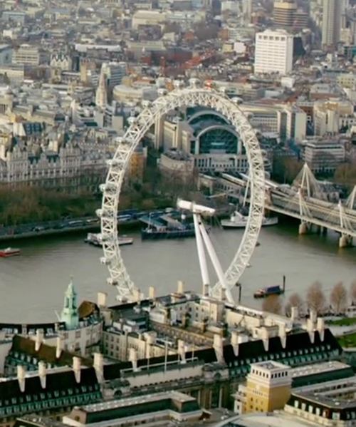 Unknown Actor with London Eye London, United Kingdom in Survivor