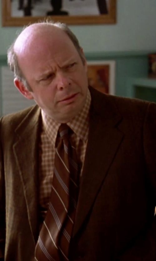 Wallace Shawn with Brooklyn Tailors Tweed Herringbone Blazer in Clueless
