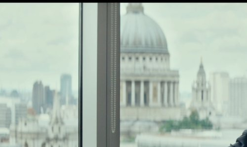 Mark Rylance with St. Paul's Cathedral London, United Kingdom in The Gunman