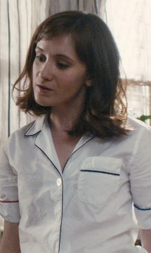 Noël Wells with Eberjey Gisele Short Sleeve PJ Set in Master of None