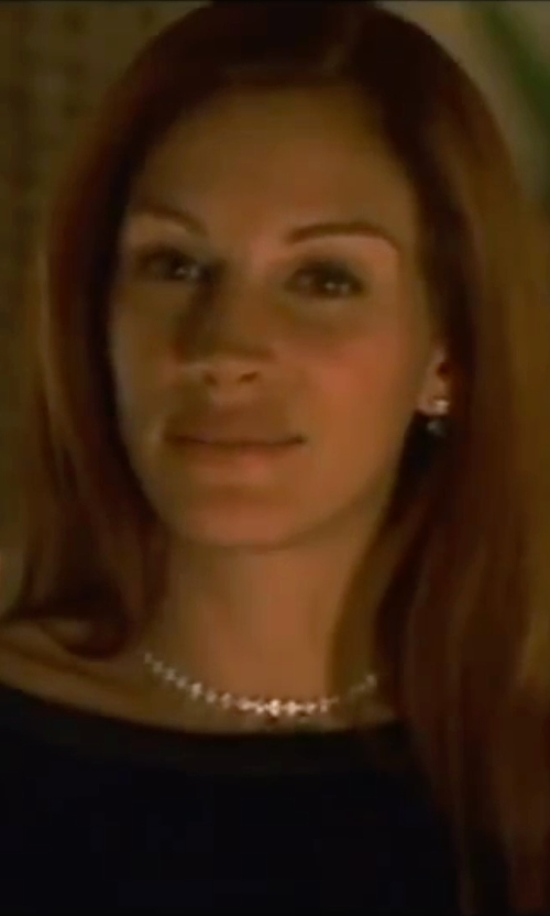 Julia Roberts with Nadri 'Josephine' Collar Necklace in Ocean's Eleven