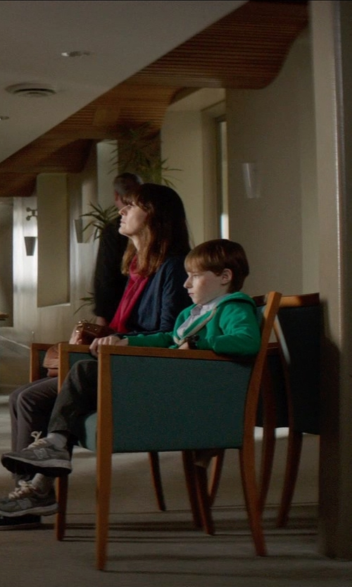Kyle Catlett with Gymboree Heathered Terry Hoodie in Poltergeist