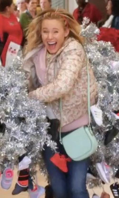 Kristen Bell with Kate Spade Cameron Street Byrdie Bag in A Bad Moms Christmas