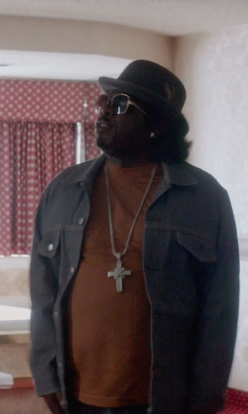 Cedric The Entertainer with Lanvin Button Shirt Jacket in Top Five