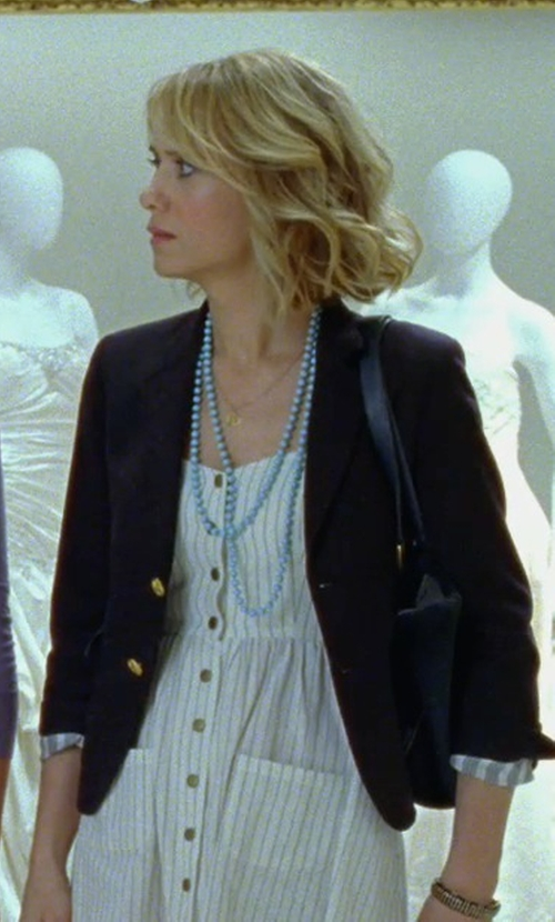 Kristen Wiig with Honora Style Cultured Freshwater Pearl Necklace in Bridesmaids
