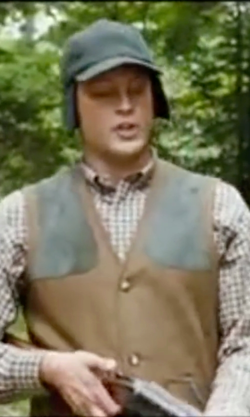Vince Vaughn with Eton Slim Fit Plaid Dress Shirt in Wedding Crashers