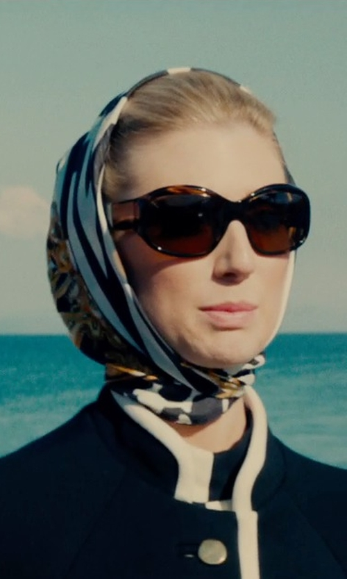 Elizabeth Debicki with Silho Vines Bohemian Scarf in The Man from U.N.C.L.E.