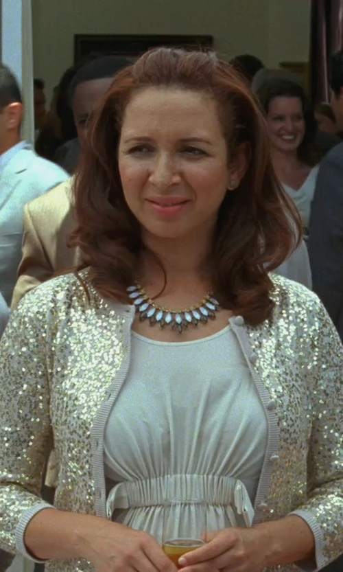 Maya Rudolph with Emporio Armani Short Dress in Bridesmaids