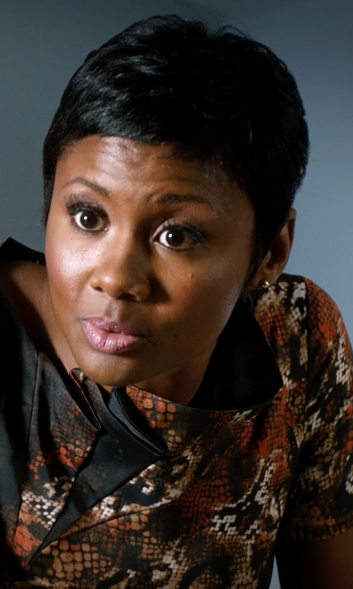 Emayatzy Corinealdi with Lord & Taylor Ball Stud Earrings in 14 Kt. Yellow Gold in Addicted