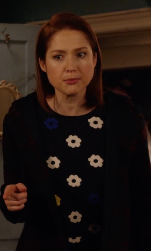 Ellie Kemper with BB Dakota Kellen Plaid Sherpa-Hood Jacket in Unbreakable Kimmy Schmidt