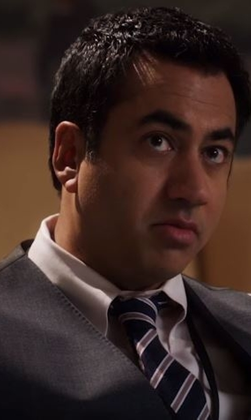 Kal Penn with Just Cavalli Suit Vest in Designated Survivor