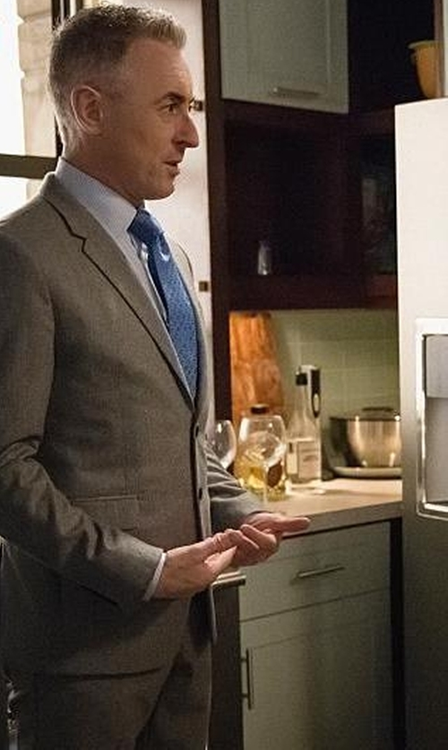 Alan Cumming with Paul Smith Two Button Suit in The Good Wife
