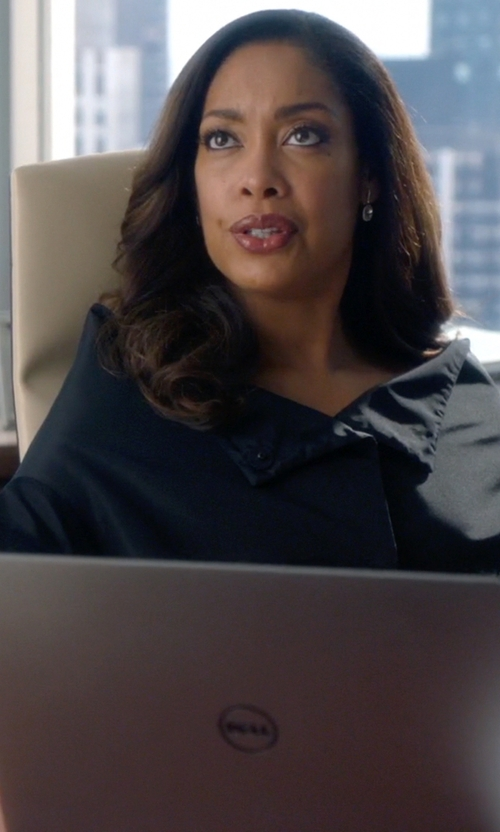 Gina Torres with Dell Inspiron 15 Laptop in Suits