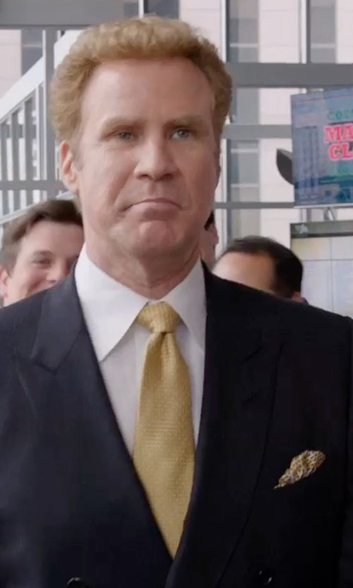 Will Ferrell with Ted Baker London Silk Pocket Square in Get Hard