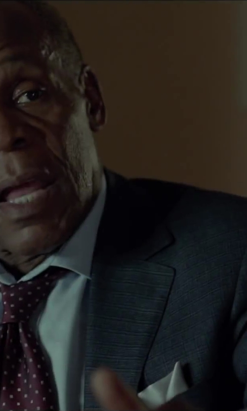Danny Glover with Harris Wharf Herringbone Blazer in Beyond the Lights