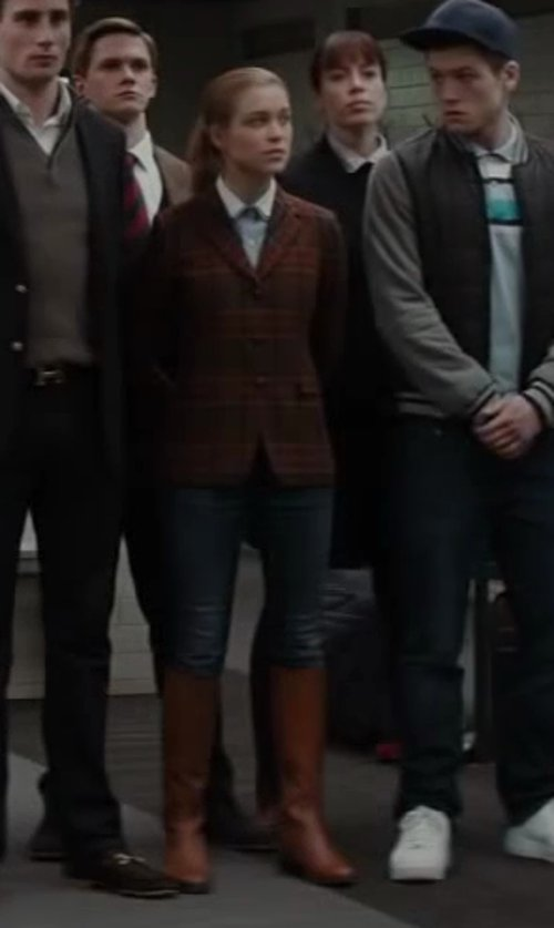 Sophie Cookson with Current/Elliott Stiletto Jeans in Kingsman: The Secret Service