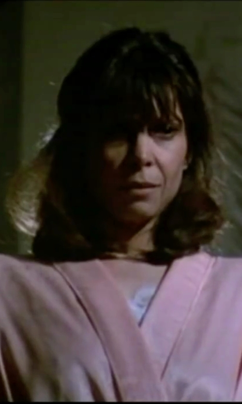 Talia Shire with Natori 'Shangri-La' Robe in Rocky IV