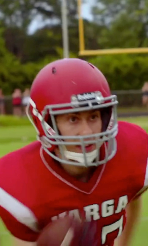 Nat Wolff with Riddell Speed Classic Helmet in Ashby