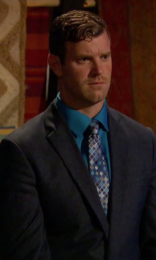 James Taylor with Armani Collezioni  M-Line Solid Two-Piece Suit in The Bachelorette