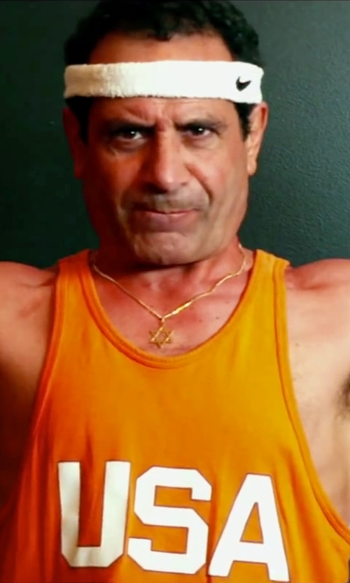 Tony Shalhoub with Fashion Shopping Town USA Printed Men's Casual Tops Tank Vest in Pain & Gain