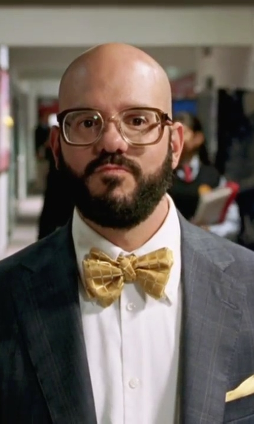 David Cross with Tommy Hilfiger Two Button Plaid Suit in She's The Man