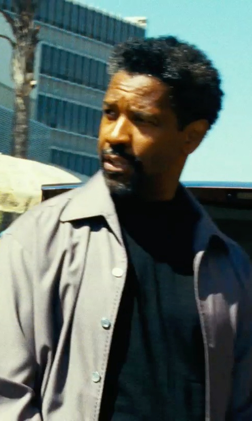 Denzel Washington with Anto Light Purple Shirt in Safe House