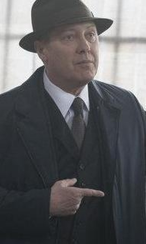James Spader with Grayers Horizontal Stripe Tie in The Blacklist