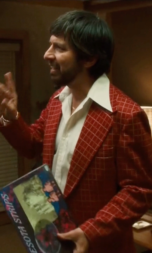Ray Romano with Michael Bastian Checked Blazer in Vinyl