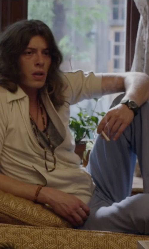 Benedict Samuel with Sector Marine 400 Analog Stainless Steel Watch in The Walk