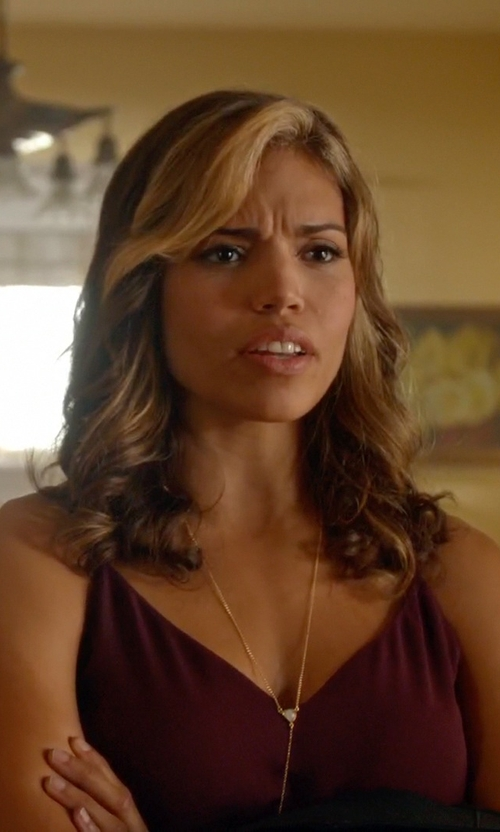 Ciara Renée with Babaton Warren Camisole Top in Arrow